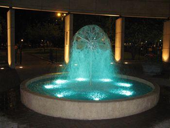 Лима, Парк Кеннеди, фонтан